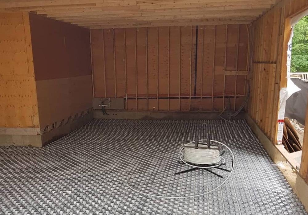 Теплый пол под ламинат своими руками кабель 28